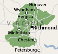 Our Central Virginia Service Area