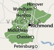 Our Central Virginia Service Area